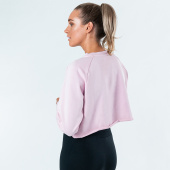 Ambassador top - Pink Cropped Sweater