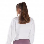 Ambassador top - White Cropped Sweater