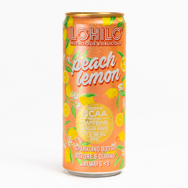 Peach Lemon - Functional BCAA drink in the group Functional drinks at LOHILOFOODS AB (41060)