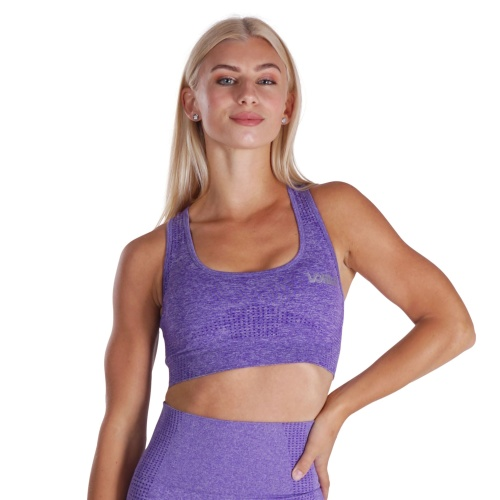 Fitness Motivation - Purple Lohilo Sports Bra Large in the group SALE at LOHILOFOODS AB (41296)