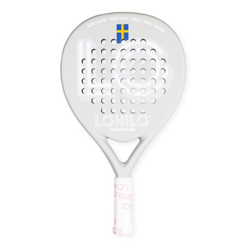 Padelmania - Premium Curve Ball Carbon Padel Racket in the group Fitness & Sport Equipment at LOHILOFOODS AB (41328)
