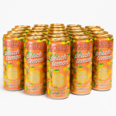 Peach Lemon - 24-pack